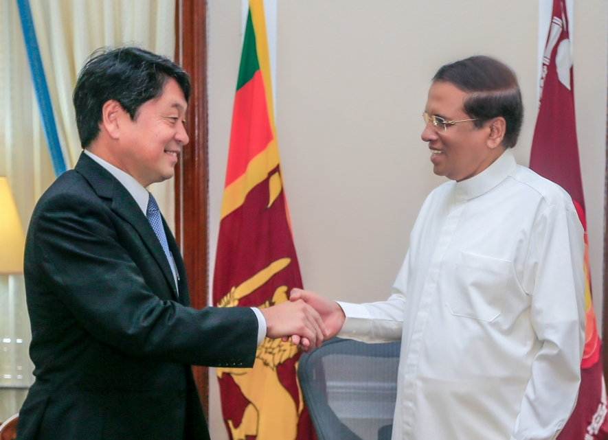 Japan's assistance to develop Sri Lanka's maritime security