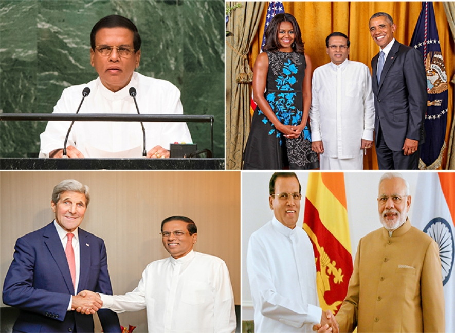 Reflections on gains of Maithri's interaction with world leaders