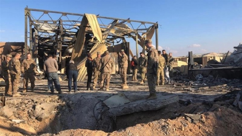 Iran raid left '34 US troops with traumatic brain injuries'