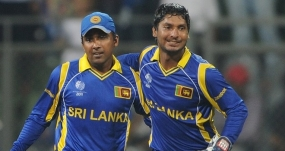 Sanga and Mahela play their last one-day international at home today
