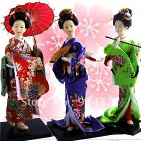 Japanese doll exhibition in Galle
