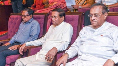 President, Chief Guest at the 'Udarai Oba' musical extravaganza