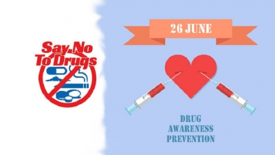 A drug eradication week from June 23
