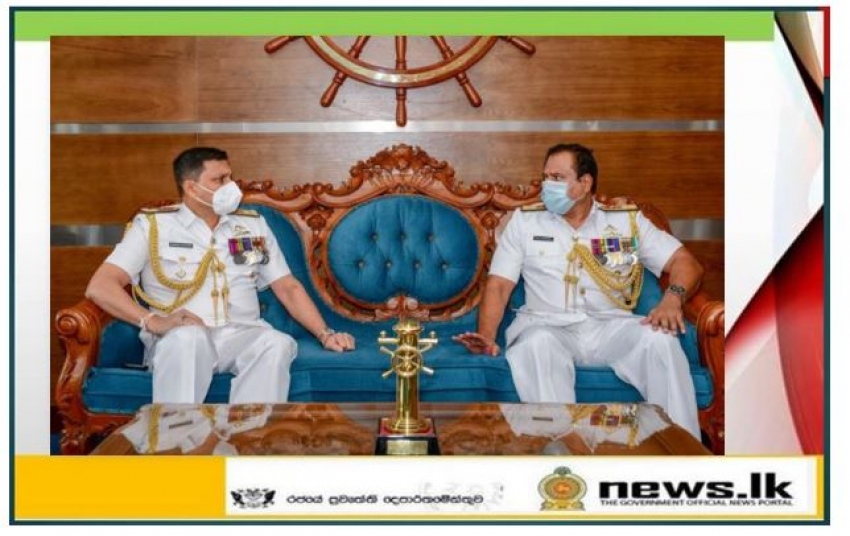 Rear Admiral Kapila Samaraweera honoured in farewell salute