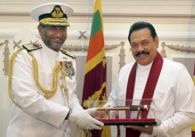New Navy Chief calls on President