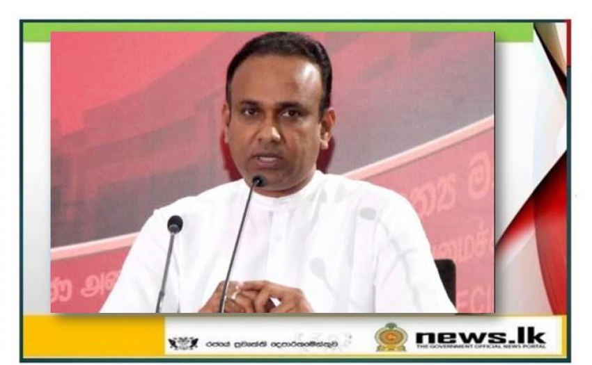 Freedom to continue operations of export crops such as tea, rubber, coconut – Minister Ramesh Pathirana