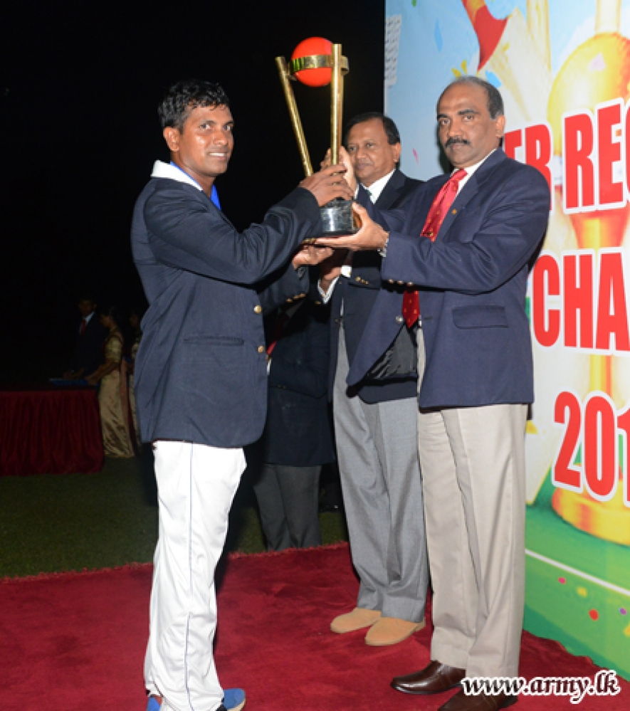 Army Inter-Regiment Cricket Championship Produces New Records