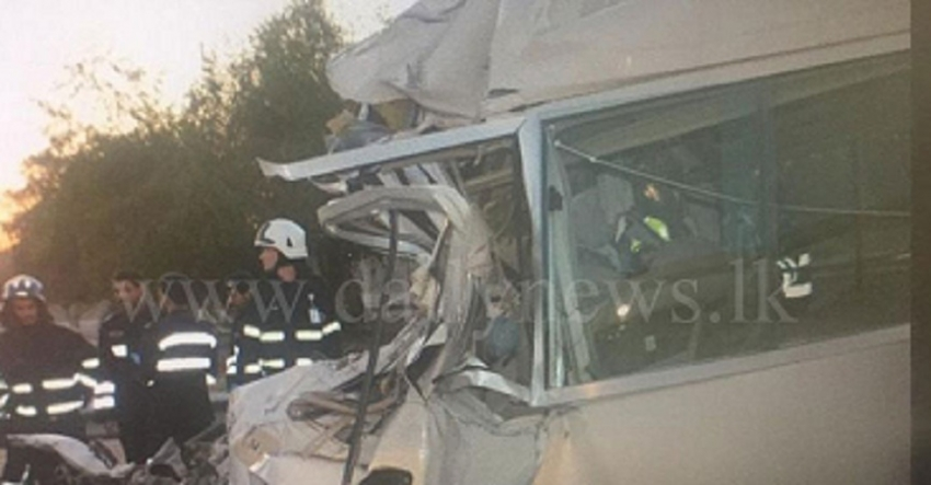 Lankan dead, several injured in Abu Dhabi bus crash