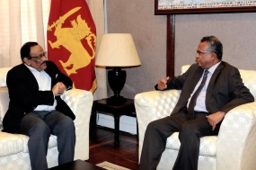 Bangladesh Foreign Secretary meets SL Foreign Secretary