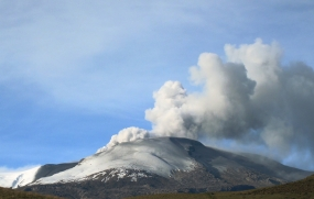 Volcano Ashes Prompt Closure of Colombian Airport