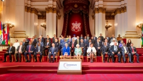 President joins the inauguration of Commonwealth Summit