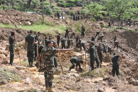Troops to continue disaster recovery operations in Koslanda