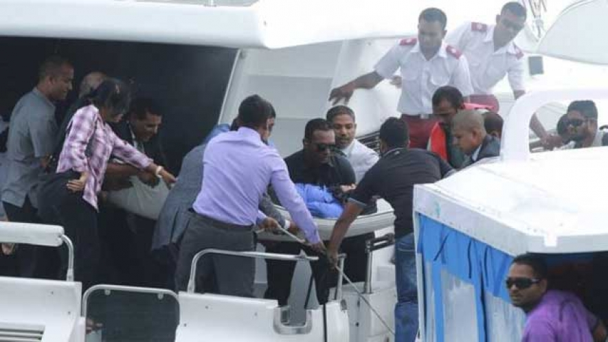 Suspect in Maldives boat blast arrested in Sri Lanka