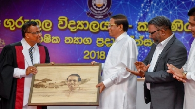 President attends annual prize giving of Kelaniya Gurukula Vidyalaya