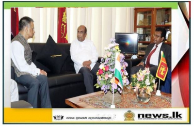 Hon. Speaker Meets High Commissioner of India