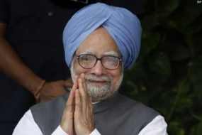 Manmohan submits his resignation