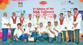 Culinary Arts and Food Exhibition 2018: Sri Lanka wins 2 gold, silver and 6 bronze