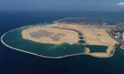 Port City land reclamation completed