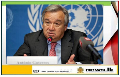 UN Secretary-General António Guterres' message for International Women's Day 8 March 2021.