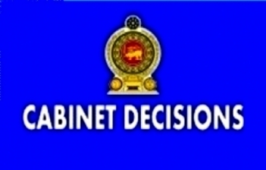 Decisions taken by the Cabinet of Ministers at the meeting held on 20-01-2016