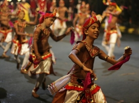 Ransiwili pageant of Bellanwila Esala Perahera on today