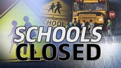 All schools closed on Friday(15)