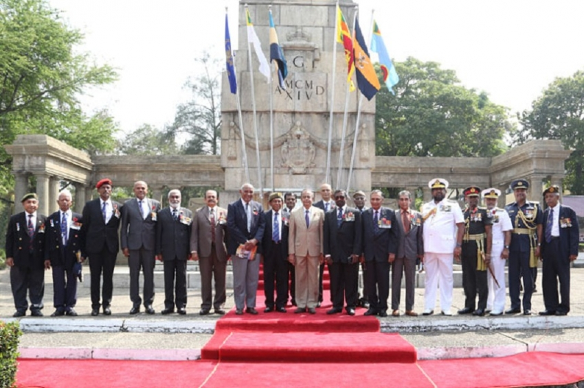 Defence Secretary graces Remembrance Day ceremony