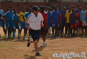 US Coaches Here to Train Jaffna Football Players