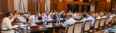 President inquires  the progress of  Presidential Task Force and Special programs