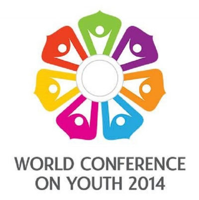WCY First Youth Delegation arrives