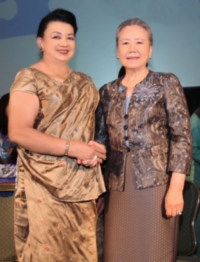 First Lady attends Tea Party hosted by UN Sec-General's wife