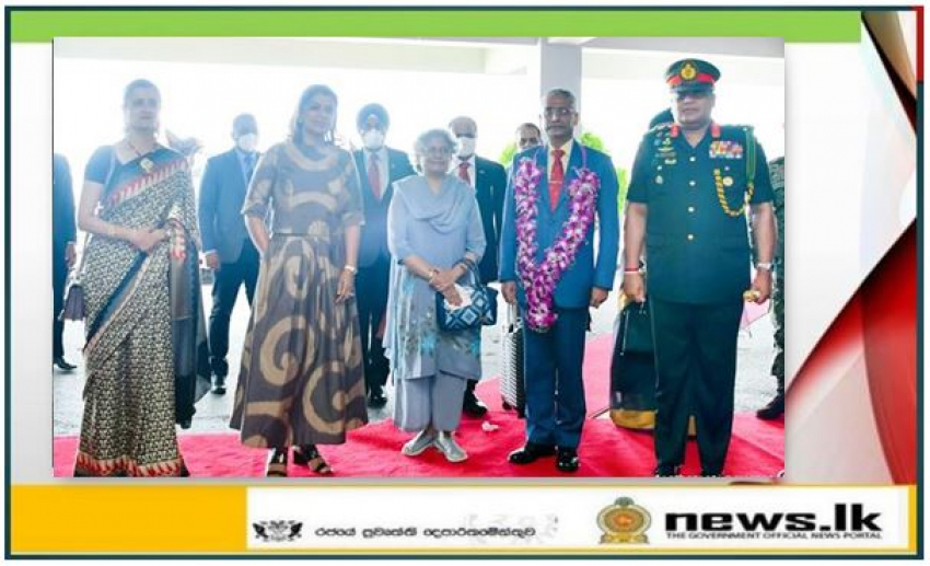 Indian Army Chief, Promoting Bilateral Understanding & Cooperation Arrives on Goodwill Tour