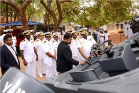 Cedric' Boat unveiled at Naval Museum in Trincomalee