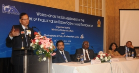 Minister Peiris underlines Sri Lanka's leadership role in Blue Economy