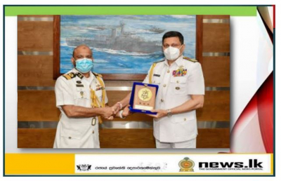 Bangladesh Defence Advisor pays courtesy call on Commander of the Navy