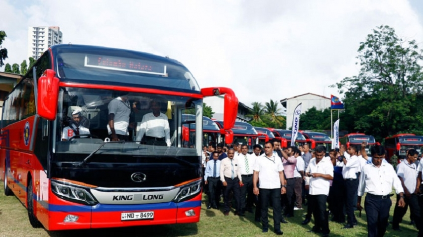 New luxury buses for SLTB