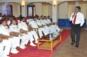 Navy facilitates an informative lecture on Public Administration