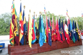 Army Flags blessing ceremony held at Kirivehera & Kataragama