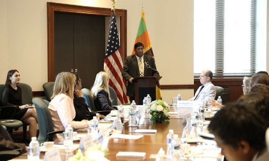 FM highlights potential for increased Sri Lanka - U.S. bilateral trade