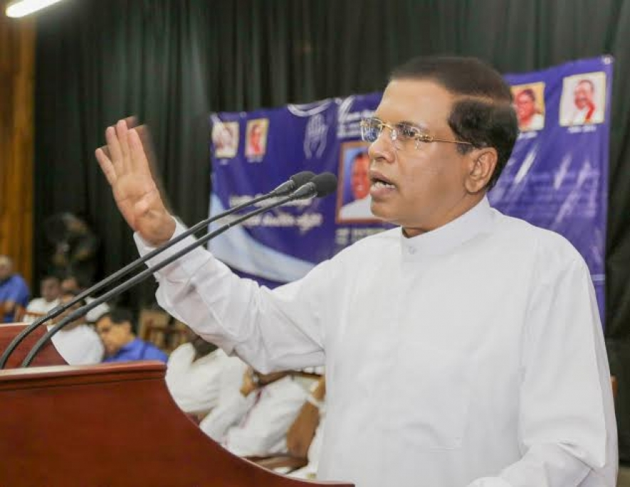 President warns SLFP members not to disband the party