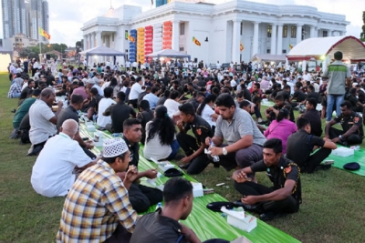 All faiths come together for Iftar at the Colombo