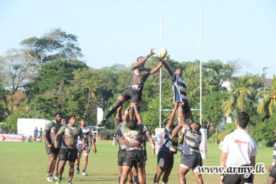 Comfortable Victory Recorded for Army Ruggerites