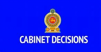 Decisions taken by the Cabinet of Ministers at its meeting held on 05.11.2018