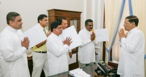 President appooints Five New SLFP Electoral Organizers