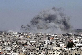 """Israel announces 7-hr humanitarian truce in Gaza"""