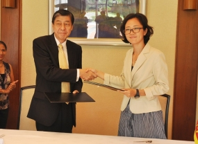 Japan supports a Livelihood Improvement Project for the Resettled Communities through Japanese NGO