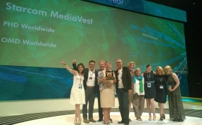 Starcom Media Vest Group Named Media Network of the Year at Cannes Lions