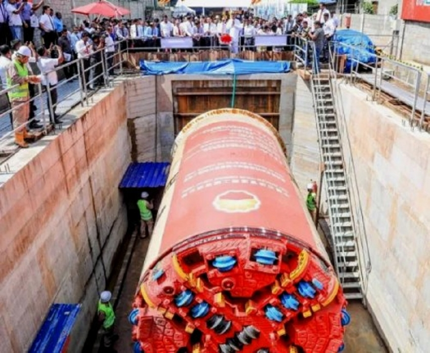Construction of New Mutwal Storm Water Drainage Tunnel  begins