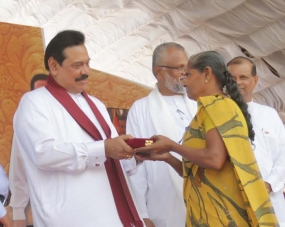 LTTE Gold and land deeds handed over to rightful Owners