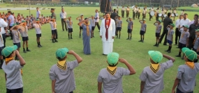 President attends Mahinda  Scouts Group Centenary Celebrations